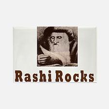 Rashi Rocks Rectangle Magnet