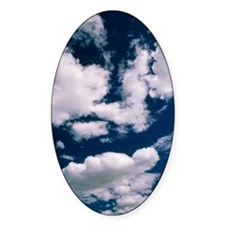 Cumulus clouds Decal
