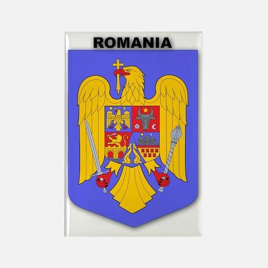 Romania Rectangle Magnet