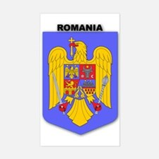 Romania Rectangle Decal