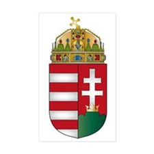 Hungary Rectangle Decal