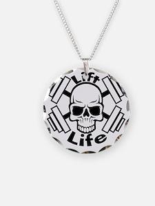 lift life skull Necklace