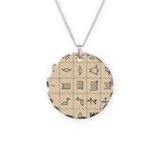 Cuneiform script Necklace