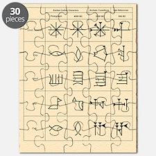 Cuneiform script Puzzle