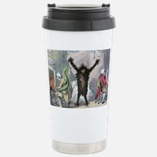 Fever and ague, satirical artwo Travel Mug