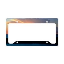 Cumulonimbus cloud License Plate Holder