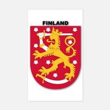 Finland Rectangle Decal