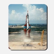 First US manned space flight, 1961 Mousepad