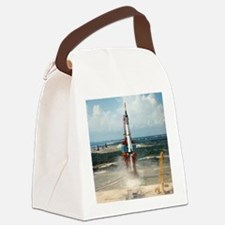 First US manned space flight, 196 Canvas Lunch Bag