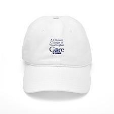 CLIMATE CHANGE Baseball Cap