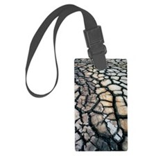 Cracked earth Luggage Tag