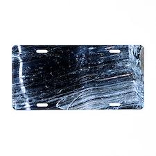 Crocidolite asbestos minera Aluminum License Plate