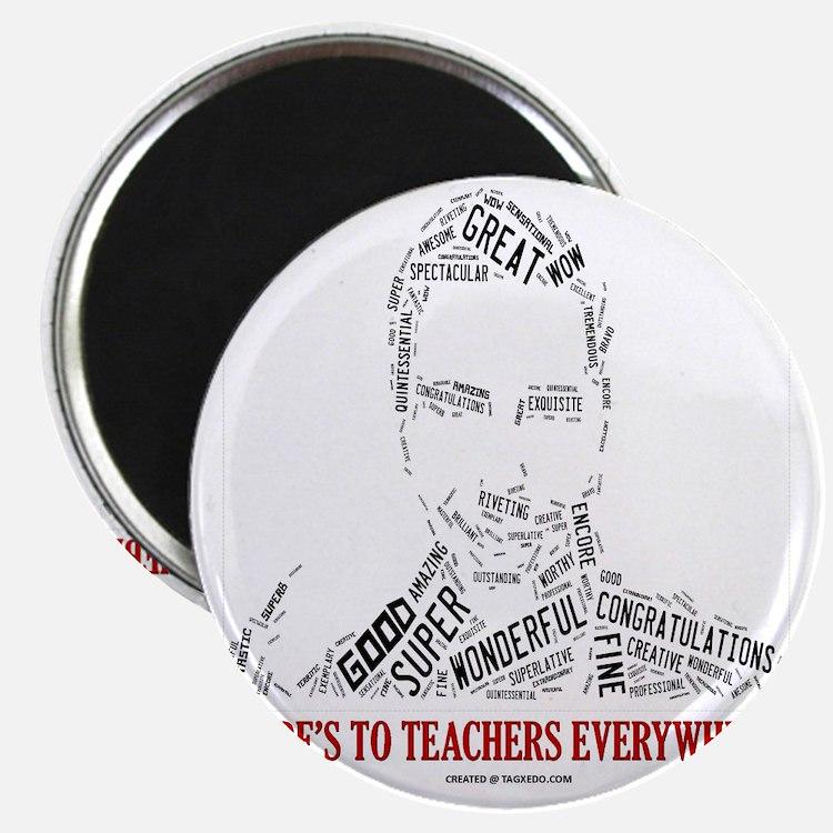 Great Male Teacher Magnet
