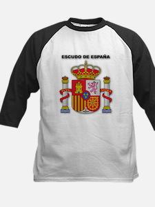 Escudo de España Kids Baseball Jersey