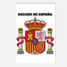 Escudo de España Postcards (Package of 8)