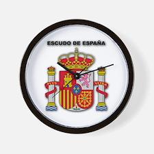 Escudo de España Wall Clock