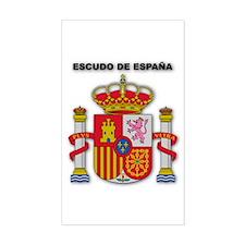 Escudo de España Rectangle Decal