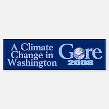 CLIMATE CHANGE Bumper Bumper Bumper Sticker