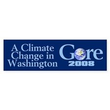 CLIMATE CHANGE Bumper Bumper Sticker