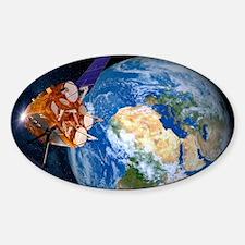 Eutelsat communications satellite Decal