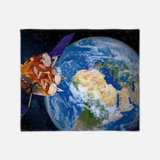 Eutelsat communications satellite Throw Blanket