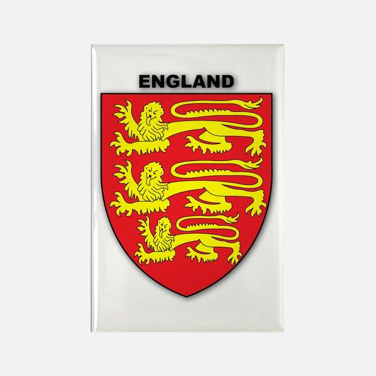 England Rectangle Magnet
