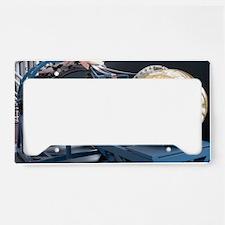 Corona spy satellite License Plate Holder