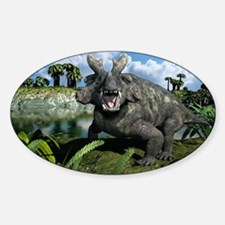 Estemmenosuchus, artwork Decal