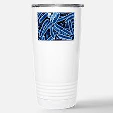 Escherichia coli bacteria, SEM Travel Mug