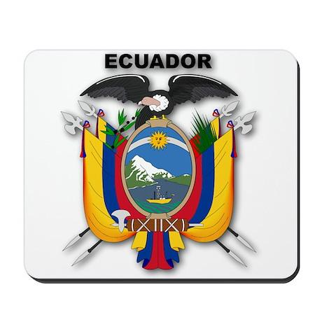 Ecuador Mousepad