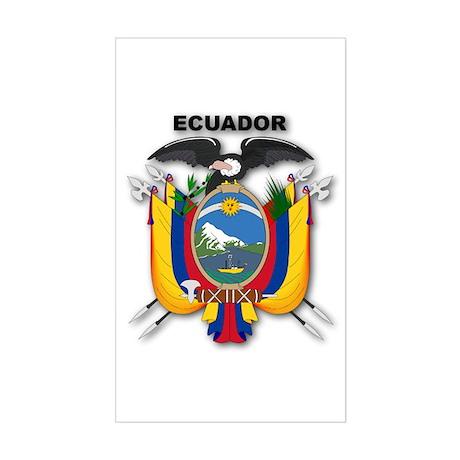 Ecuador Rectangle Sticker