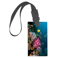Coral reef, Indonesia Luggage Tag