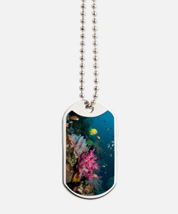 Coral reef, Indonesia Dog Tags