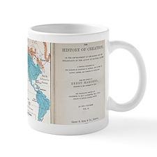 Ernst Haeckel Map Lemuria Human Origins Mug