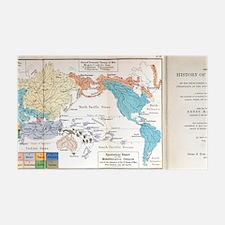 Ernst Haeckel Map Lemuria Human O Wall Decal