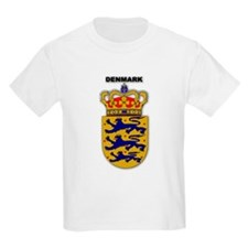 Denmark Kids T-Shirt
