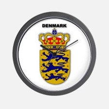 Denmark Wall Clock