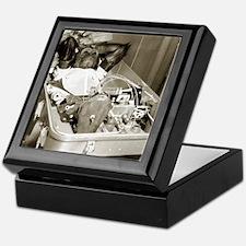 Enos the astrochimp Keepsake Box