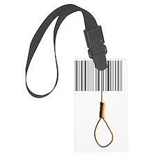 End of consumerism, conceptual i Luggage Tag