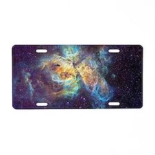 Eta Carinae Nebula Aluminum License Plate