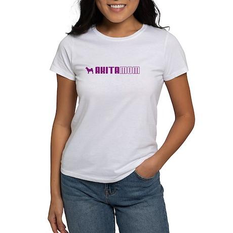 Akita Mom 2 Women's T-Shirt