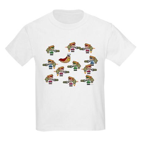 Slug-Man Game Kids T-Shirt