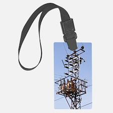 Electricity pylon in Gazipasa, T Luggage Tag