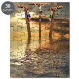 Three crosses Puzzles