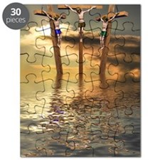 Jesus and two thieves on the cross Puzzle