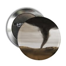 "Computer illustration of a tornado 2.25"" Button"
