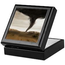 Computer illustration of a tornado Keepsake Box