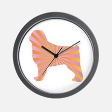 Ovcharka Rays Wall Clock