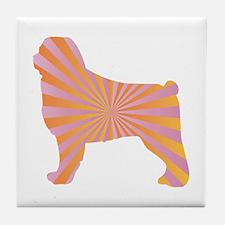 Ovcharka Rays Tile Coaster