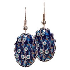 Iznik Ceramic tiles from Turkey Earring